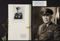 Autographs, Military Autographs - Three Items:. ... (Total: 3 Items)