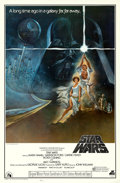 "Movie Posters:Science Fiction, Star Wars (20th Century Records, 1977). Soundtrack One Sheet (27"" X41""). Tom Jung Artwork. ..."