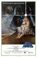 "Movie Posters:Science Fiction, Star Wars (20th Century Fox, 1977). Second Printing One Sheet (27""X 41"") Style A.. ..."