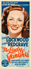 """Movie Posters:Hitchcock, The Lady Vanishes (B.E.F., R-1950s). Australian Daybill (13.5"""" X 30"""").. ..."""