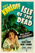 "Movie Posters:Horror, Isle of the Dead (RKO, 1945). One Sheet (27"" X 41"").. ..."