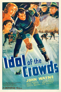 "Idol of the Crowds (Universal, 1937). One Sheet (27.5"" X 41"")"