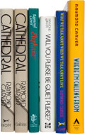 Books:Literature 1900-up, Raymond Carver. Group of Six Books of Prose. [Various: 1976-1988].First editions and first English editions.... (Total: 6 Items)