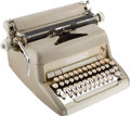 Books:Furniture & Accessories, [Mickey Spillane]. Mickey Spillane's Smith-Corona SecretarialManual Typewriter, Circa 1958-1960....