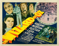 "Movie Posters:Fantasy, The Wizard of Oz (MGM, 1939). Half Sheet (22"" X 28"") Style A.. ..."