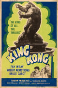 "Movie Posters:Horror, King Kong (RKO, R-1956). Poster (40"" X 60"").. ..."