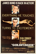 """Movie Posters:James Bond, Goldfinger (United Artists, 1964). Poster (40"""" X 60"""") Glossy Style Z.. ..."""