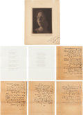 Books:Literature 1900-up, Edna St. Vincent Millay (1892-1950). Superb archive belonging toAnne Wills Gardner, Vassar roommate and life-long friend of E...(Total: 37 Items)