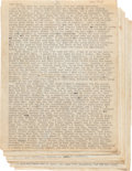 Books:Literature 1900-up, Neal Cassady (1926-1968). The Joan Anderson Letter to Jack Kerouac (1922-1969). Denver: 17 December 1950. Typed letter of ei...