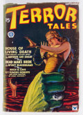 Pulps:Horror, Terror Tales - September 1934 (Popular) Condition: GD....