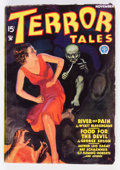 Pulps:Horror, Terror Tales - November 1934 (Popular) Condition: VG....