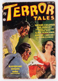 Pulps:Horror, Terror Tales - March 1937 (Popular) Condition: GD....