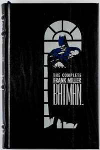 The Complete Frank Miller Batman Hardcover Leather Bound First Edition (DC, 1989) Condition: VF