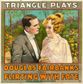 """Movie Posters:Adventure, Flirting with Fate (Triangle, 1916). Six Sheet (80.25"""" X 80.5"""")....."""