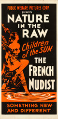 "Movie Posters:Exploitation, Children of the Sun (Public Welfare Pictures Corp., 1934). Three Sheet (41"" X 83"").. ..."