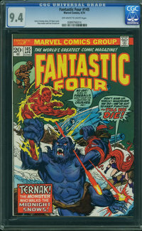 Fantastic Four #145 - WESTPORT COLLECTION (Marvel, 1974) CGC NM 9.4 Off-white to white pages