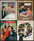 """Movie Posters, Paramount Service (Paramount, 1938). Magazines (4) (20 Pages each, 9.5"""" X 11.5"""").. ... (Total: 4 Items)"""
