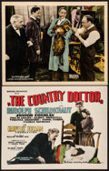 """Movie Posters:Drama, The Country Doctor & Other Lot (Pathé, 1927). Title Lobby Card & Lobby Card (11"""" X 14""""). Drama.. ... (Total: 2 Items)"""