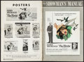 """Movie Posters:Hitchcock, The Birds (Universal, 1963). Uncut Pressbook (42 Pages, 18"""" X 22""""). Hitchcock.. ..."""