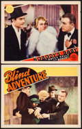 "Movie Posters:Crime, Blind Adventure & Other Lot (RKO, 1933). Lobby Cards (2) (11"" X14""). Crime.. ... (Total: 2 Items)"