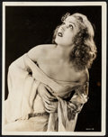 "Movie Posters:Horror, Fay Wray in King Kong by Robert W. Coburn (RKO, 1933). PortraitPhoto (8"" X 10""). Horror.. ..."