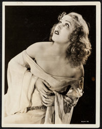"Fay Wray in King Kong by Robert W. Coburn (RKO, 1933). Portrait Photo (8"" X 10""). Horror"