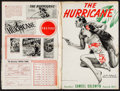 """Movie Posters:Adventure, The Hurricane (United Artists, 1937). Uncut Pressbook (22 Pages,12"""" X 18""""). Adventure.. ..."""