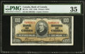 Canadian Currency: , BC-27c $100 1937.. ...