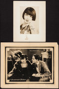 """Movie Posters:Drama, Half an Hour & Other Lot (Paramount, 1920). Lobby Card (11"""" X 14"""") & Fan Photo on Board (8"""" X 10""""). Drama.. ... (Total: 2 Items)"""