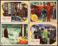 "Twelve O'Clock High & Others Lot (20th Century Fox, 1949). Lobby Cards (4) (11"" X 14""). War. ... (Total: 4..."