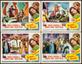 "Movie Posters:Adventure, Sinbad the Sailor (RKO, 1946). Lobby Cards (4) (11"" X 14"").Adventure.. ... (Total: 4 Items)"