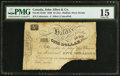 Canadian Currency: , Halifax, NS- John Albro & Co. $1 (5 Shillings) 1820.. ...