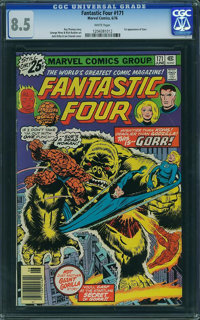 Fantastic Four #171 - WESTPORT COLLECTION (Marvel, 1976) CGC VF+ 8.5 White pages