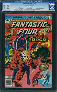 Fantastic Four #174 - WESTPORT COLLECTION (Marvel, 1976) CGC NM- 9.2 White pages