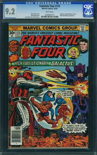 Fantastic Four #175 - WESTPORT COLLECTION (Marvel, 1976) CGC NM- 9.2 White pages