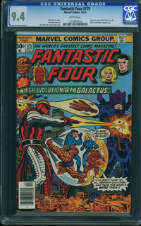 Fantastic Four #175 - WESTPORT COLLECTION (Marvel, 1976) CGC NM 9.4 White pages