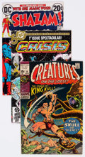 Bronze Age (1970-1979):Miscellaneous, Bronze and Modern Age Autographed Comics Group of 4 (VariousPublishers, 1970s-80s) Condition: Average VF.... (Total: 4 ComicBooks)