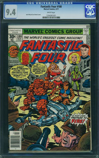 Fantastic Four #180 - WESTPORT COLLECTION (Marvel, 1977) CGC NM 9.4 White pages