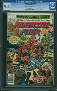 Fantastic Four #180 - WESTPORT COLLECTION (Marvel, 1977) CGC NM 9.4 Cream to off-white pages