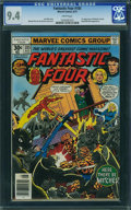 Bronze Age (1970-1979):Superhero, Fantastic Four #185 - WESTPORT COLLECTION (Marvel, 1977) CGC NM 9.4 White pages.