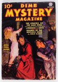 Pulps:Horror, Dime Mystery Magazine - September 1936 (Popular) Condition: VG....