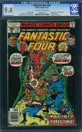 Bronze Age (1970-1979):Superhero, Fantastic Four #187 - WESTPORT COLLECTION (Marvel, 1977) CGC NM 9.4 Off-white to white pages.