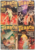 Pulps:Horror, Terror Tales Group of 6 (Popular, 1935-39) Condition: Average GD.... (Total: 6 Items)