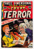 Golden Age (1938-1955):Horror, Three Dimensional Tales from the Crypt of Terror #2 (EC, 1954)Condition: FR/GD....