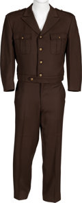 Books:Furniture & Accessories, [Mickey Spillane]. Unusual Tailor-Made Military-Style Uniform....