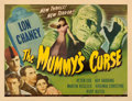 "Movie Posters:Horror, The Mummy's Curse (Universal, 1944). Half Sheet (22"" X 28"").. ..."