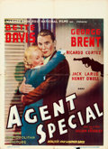 "Movie Posters:Crime, Special Agent (Warner Brothers, 1935). Pre-War Belgian (24"" X33"").. ..."