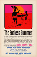 "Movie Posters:Sports, The Endless Summer (Bruce Brown Films, 1966). Poster (11"" X 17"") John Van Hamersveld Artwork.. ..."