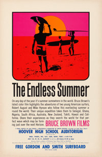 "The Endless Summer (Bruce Brown Films, 1966). Poster (11"" X 17"") John Van Hamersveld Artwork"