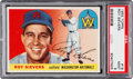 Baseball Cards:Singles (1950-1959), 1955 Topps Roy Sievers #16 PSA Mint 9 - The Reigning PSA Champion!...